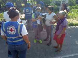 Cruz Roja venezolana brindó asistencia humanitaria a familias en Portuguesa, afectadas por las lluvias
