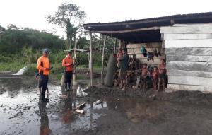 Lluvias desbordaron el río Guanare afectando a 23 familias y más de 500 hectáreas