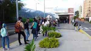 Transporte público en la ciudad de Mérida brilla por su ausencia #11May (Fotos)