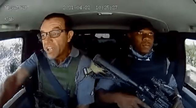 Los VIDEOS del asalto a un camión blindado en Sudáfrica son más impresionantes que una película de acción