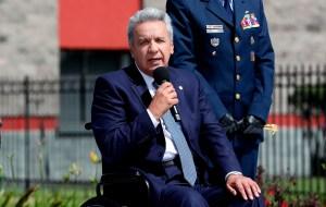 Moreno insistió en la grosera intromisión de Maduro en protestas de Colombia