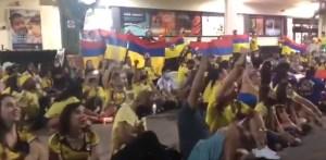 Colombianos en EEUU se reunieron para rechazar violencia durante protestas en su país (VIDEO)