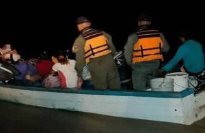 GNB detuvo a 61 venezolanos que zarparon de Delta Amacuro hacia Trinidad y Tobago