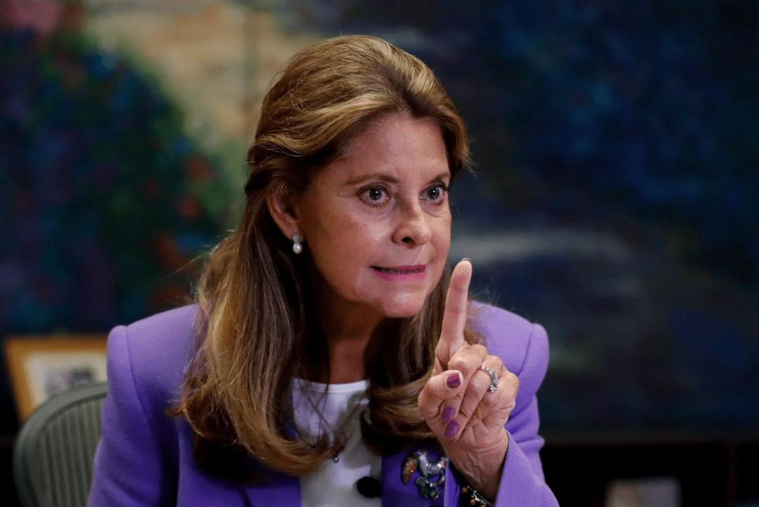 Vicepresidenta de Colombia denunció injerencia de Maduro en actos vandálicos