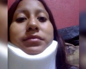 México: Golpeada y con sus hijos al lado, Nancy se quedó a ayudar a los heridos dentro del Metro