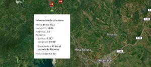 Sismo de magnitud 3.8 se registró en Portuguesa este #11May