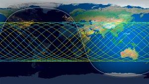 Cuál es la probabilidad de que el cohete chino caiga en un punto determinado del planeta