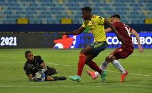 La Vinotinto rescató valioso empate con un salvador Fariñez ante Colombia