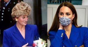"""Conoce las cinco veces en las que Kate Middleton """"clonó"""" a Lady Di (Fotos)"""
