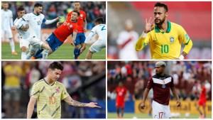 Vuelven las eliminatorias sudamericanas para Catar 2022 tras siete meses de pausa