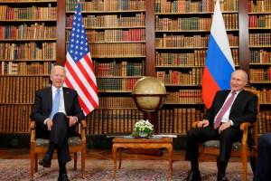 Agencia Tass: Ni Venezuela ni los precios del petróleo se discutieron en reunión entre Biden y Putin