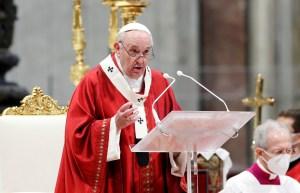 El papa Francisco pide a la Iglesia reconocer errores y pedir perdón por los abusos