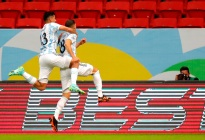 Guido Rodríguez marcó el primer gol de Argentina contra Uruguay (Video)