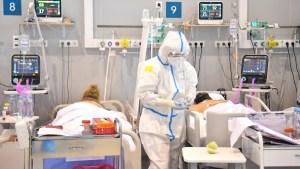 Moscú registra 9.056 nuevos casos de Covid-19, récord desde el inicio de la pandemia