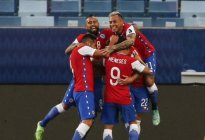 Tras vencer a Bolivia, Chile lidera, por ahora, el grupo A de la Copa América