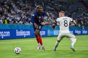 """Francia se llevó sus primeros tres puntos frente a una """"apabullada"""" Alemania"""