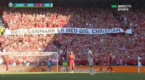 Jugadores interrumpen el Dinamarca-Bélgica para rendir un EMOTIVO homenaje a Christian Eriksen (VIDEO)