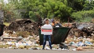 El caricaturista Franklin Paz denunció la acumulación de desechos sólidos: Maracaibo agoniza entre la basura (Fotos)