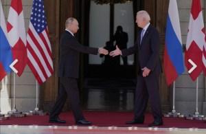Putin elogia el resultado de la cumbre y llama a Biden un negociador duro