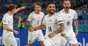 Con gol de Locatelli, Italia se va al descanso a un paso de avanzar en la Eurocopa