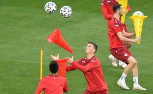 Extraña rutina de calentamiento de Macedonia del Norte en la Eurocopa que se volvió viral en las redes (Video)