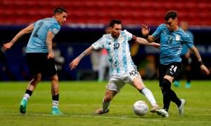 Con un Messi encendido, Argentina venció a Uruguay en el clásico rioplatense