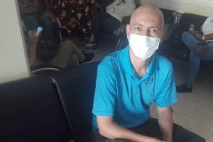 Paciente oncológico detenido en el Cicpc inició huelga de hambre ante falta de tratamiento