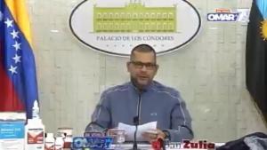Violando la Constitución: Este gobernador chavista promocionó su candidatura en cadena por radio y TV (VIDEO)