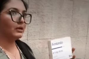Compró fentanilo por escasez de medicamentos en México; ahora la acusan de narcotráfico
