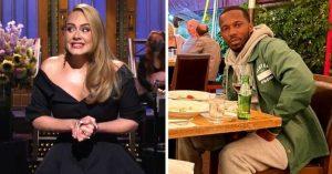 Captaron a Adele con su nueva pareja en una cita