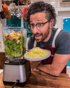 El chef venezolano Andrés Cooking encanta paladares en solo 30 segundos (VIDEO)
