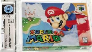 """Subastan un videojuego de """"Super Mario 64"""" por 1,56 millones de dólares"""