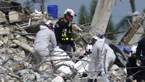 Hallan los cuerpos de tres familiares de la primera dama de Paraguay en el derrumbe de Miami
