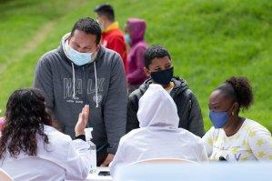 Bogotá inauguró un centro de atención para refugiados venezolanos (Video)