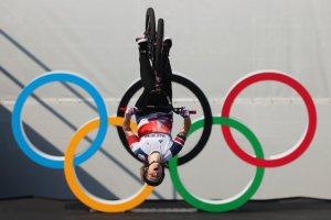 La británica Worthington, primera campeona olímpica de BMX freestyle