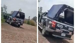 Persona que grabó a policías teniendo sexo en México podría terminar en la cárcel