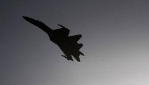 Un avión Su-35 cae en el Lejano Oriente de Rusia y el piloto logra eyectarse