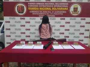 Aprehenden a una mujer y incautan más de tres mil proyectiles en Carabobo