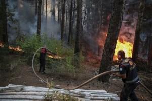 Tras fallecer dos bomberos, sube a seis los decesos en los incendios de Turquía