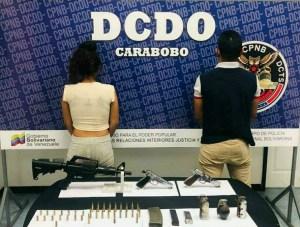 Detienen a dos sujetos e incautan armas de fuego en Carabobo