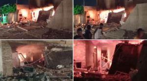 EN VIDEOS: Vivienda en Maracaibo en llamas tras alarmante explosión