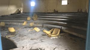 Hampones destruyeron las instalaciones de la UDO que fueron recuperadas días atrás (FOTO)