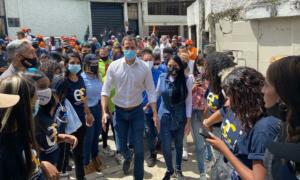 Delsa Solorzano visitó junto a Guaidó barrios de Los Teques #31Jul (Fotos)