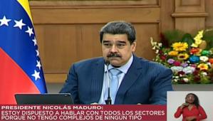 """Maduro dramatizó un diálogo con los """"alacranes"""" justo después de secuestrar a Guevara"""