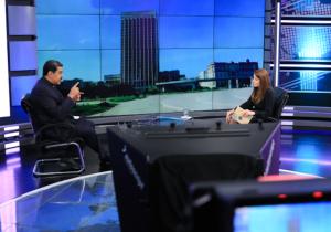 Maduro comentó que aceptaría la presencia de EEUU en la mesa de diálogo