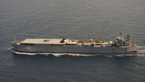 Buques de guerra iraníes finalmente dieron la vuelta en el Atlántico con destino a Rusia