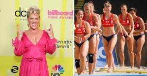 Pink, ofreció cubrir multa del equipo femenino de balonmano playero de Noruega por no jugar en bikini