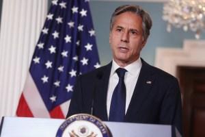 Blinken aseguró que los talibanes deben ganarse su legitimidad ante el mundo