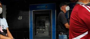 Solo el 5% de los cajeros automáticos funcionan en el país