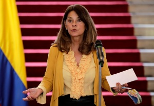 """""""Inaceptable"""": Vicepresidenta colombiana rechazó proposición de normalizar relaciones con el chavismo"""